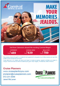 Carnival Cruise Ad