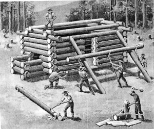 Early Log Cabins