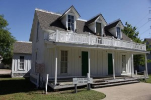 Lyles House in Historic Garland