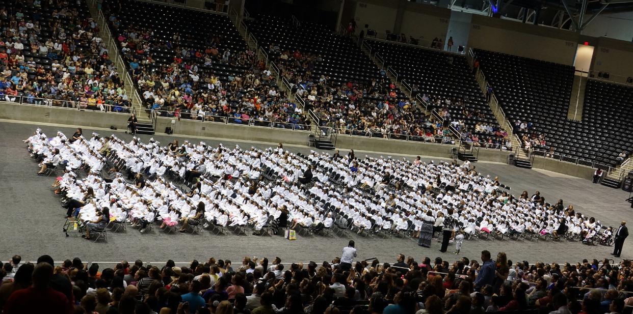 Garland Pre-K Graduation Day