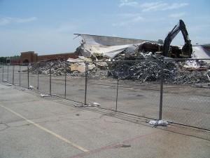 Garland Target Demolished