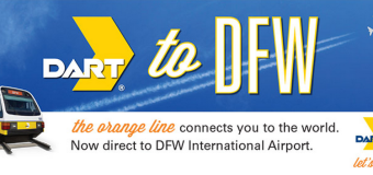 DART Now Goes to DFW Airport