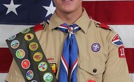 Eagle Scout Honored Among Garland Scouts & Firefighters