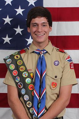 Quinn Saab is Garland's Newest Eagle Scout
