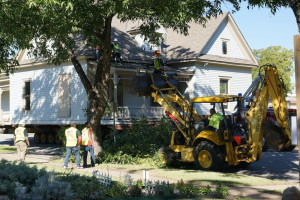 Pace House Moves in Garland