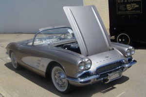 '62 Corvette at Garland