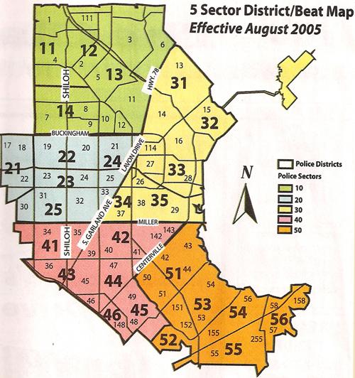 Garland District Maps