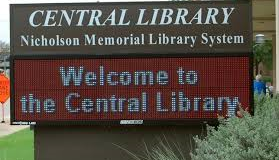 News Release Nicholson Memorial Library System