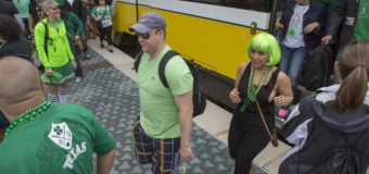 Ride DART to St. Patrick's Festivities