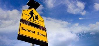 Remember to Observe School Zones