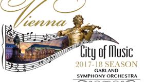 The Garland Symphony Orchestra celebrates its 2017-2018 Season