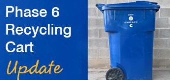 Phase 6 Blue Recycling Cart Update