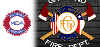 GARLAND Fire F ighters Support MDA with  Annual Fill the Boot Drive