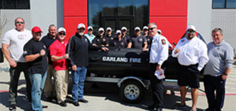 Guns & Hoses Buys New Rescue Boat for Fire Department