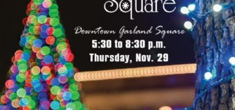 2018 Christmas on the Square  Tree Lighting Ceremony