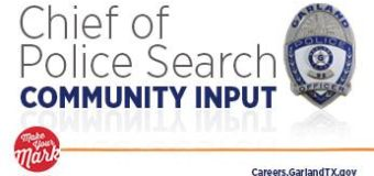 Chief of Police Search Community Input