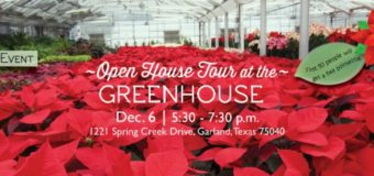 Open House Tour at the Greenhouse