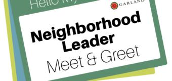 Neighborhood Leader Meet & Greet