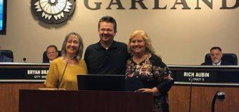 New Leadership in Garland
