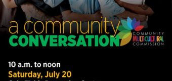 A Community Conversation Saturday, July 20