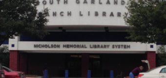 Garland Library Information for August