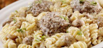 Meatball Mac 'N Cheese