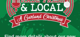 Made Fresh & Local: A Garland Christmas