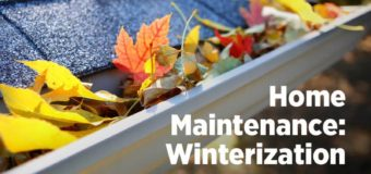 Home Maintenance: Winterization Virtual Class Thursday, Nov. 19