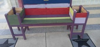 Colorful Benches for Kids